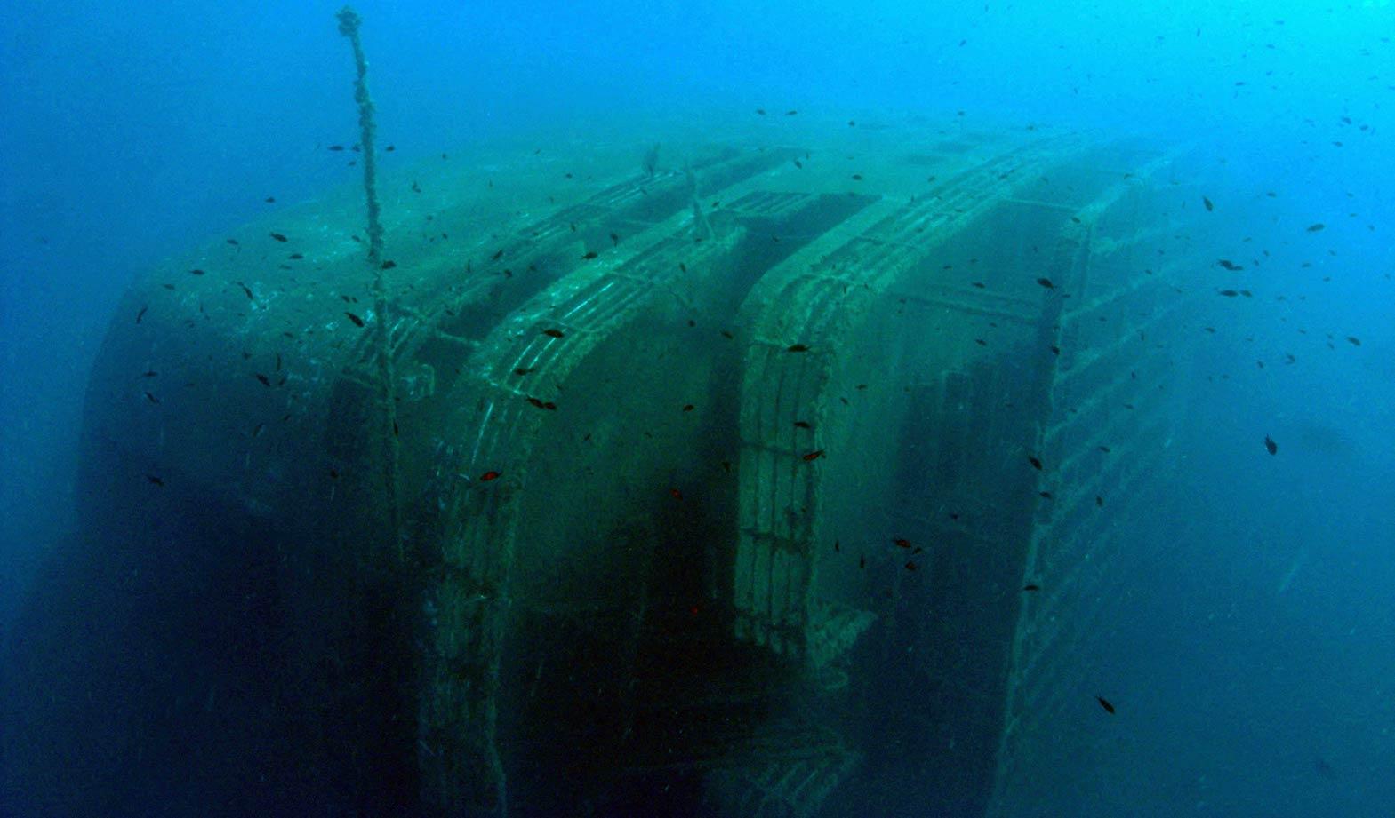 Paros diving